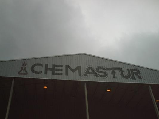 limpieza fachada chapa, chorreo humedo, arena de silice, silicato aluminio