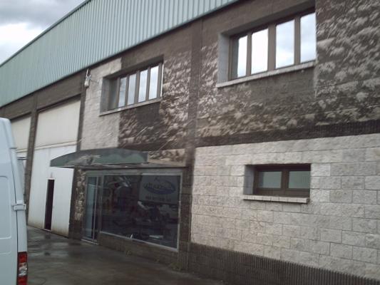 limpieza de fachada de piedra, microchorreo, hidrolimpiadora
