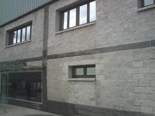 limpieza fachada piedra, microchorreo